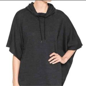 Gap fit hoodie poncho sweater